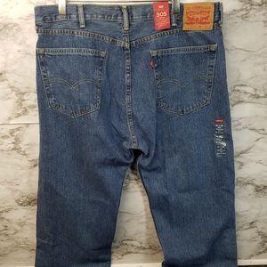 Levis 505 Big & Tall Jeans Mens Sz 40x36 Straight